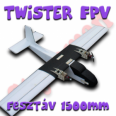 TWInSTaR/Twistair FPV 1500MM Styroman epp