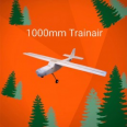 Trainair 1000mm EPP Rc repülő KIT Styroman (Carbonnal)